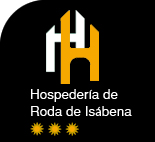 Logotipo Hospeder�a Roda de Is�bena